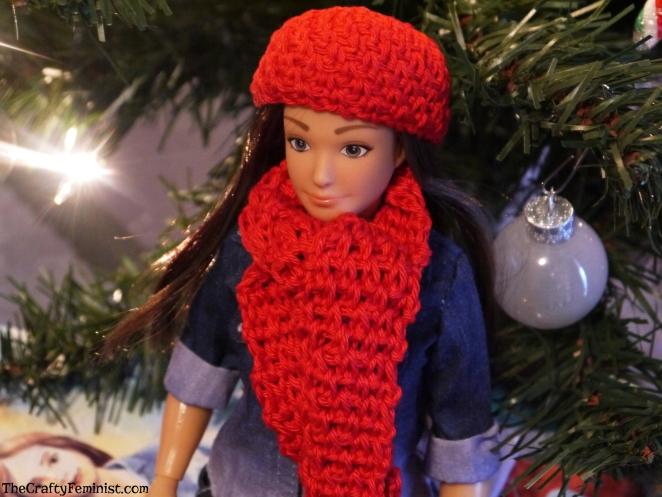 Lammily Hat and Scarf Crochet Pattern