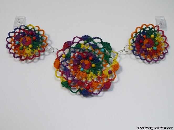 Crochet Doily Wall Hanging