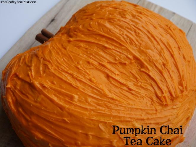 Pumpkin Chai Tea Cake